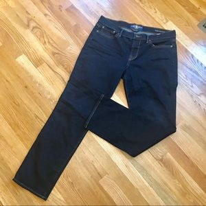 Lucky Brand Sweet 'N Straight Ankle Jean dark wash